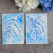 Set of 2 Fine Art Forget Me Not Flower Greeting Cards