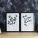 Blossom Stem Art Print Set of 2 - A3