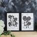 Hydrangea Stem Art Print Set of 2 - A3