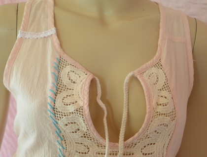 Upcycled summer top