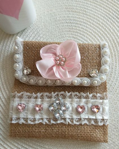 Shabby Chic Gift/Jewelry Bag