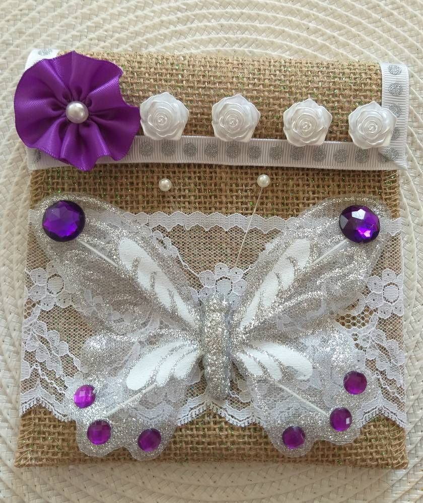 Shabby Chic Gift / Jewelry Bag
