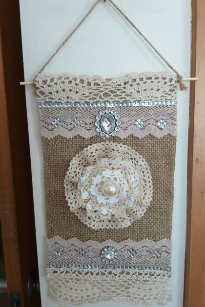 Lovely Shabby Chic Wall Hanging