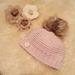 Merino spiral hat