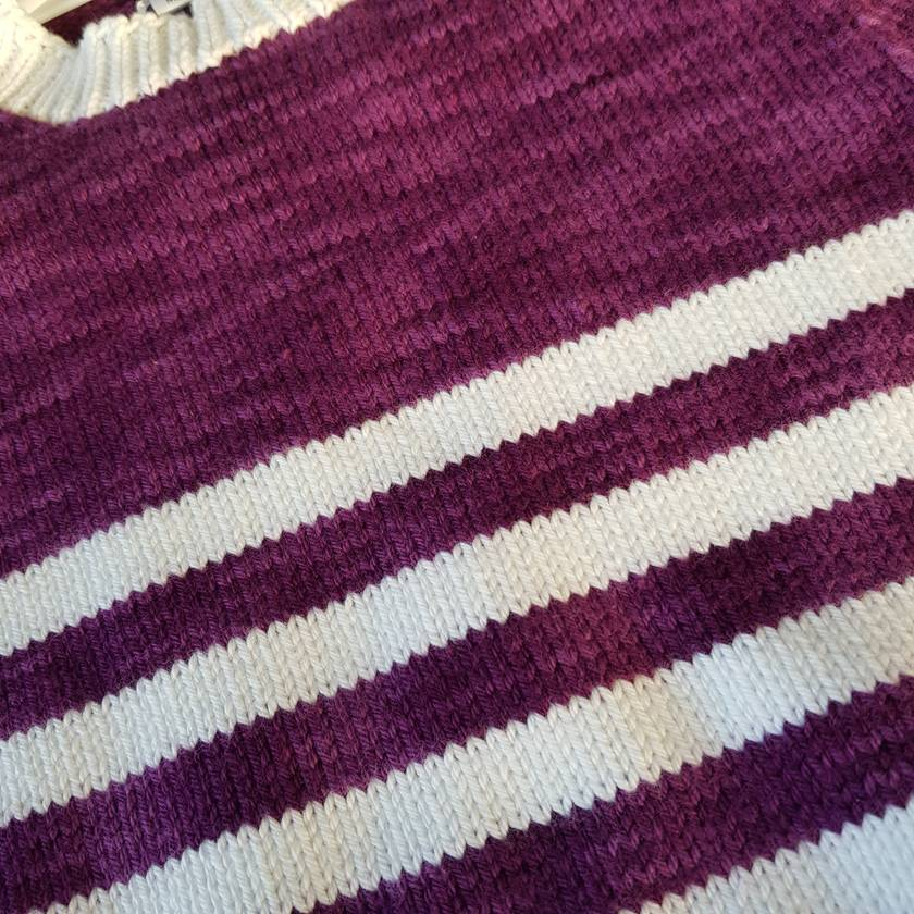 Cotton knit jumper  (1 year)