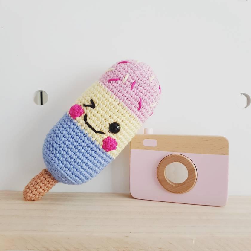 Crochet Icy Rattle