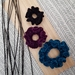 Crochet scrunchies (large)