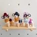 Crochet hipster llama