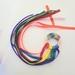 Rainbow ribbon teether
