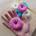 Single crochet donuts (made to order)