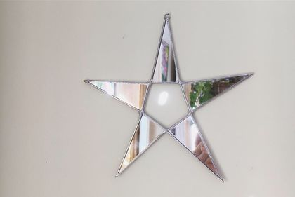Star Mirror Wall Hanging