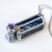 Mini Jewellery Kaleidoscope - Blue & Black