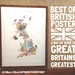 Best of British Map Poster