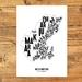 Wellington City Map - A3 art print