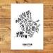 Hamilton City Map - A3 art print
