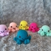 Crochet Coloured Octopuses