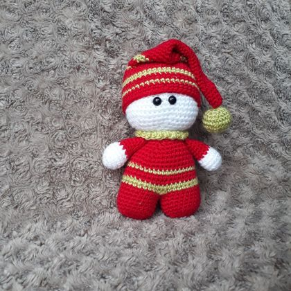 Crochet Christmas toy
