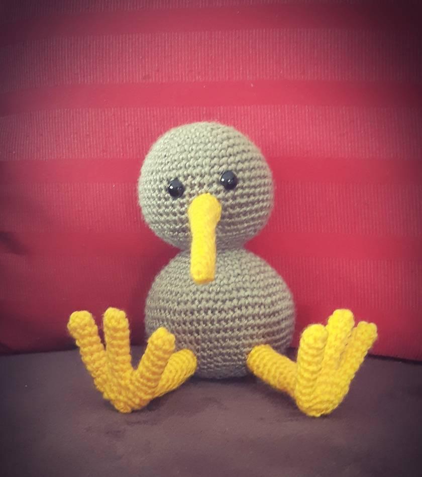 Crochet Kiwi