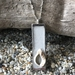 Rustic, Unique, Original Shell Design Pendant Necklace