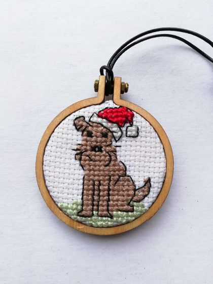 Dog Christmas Tree Ornament