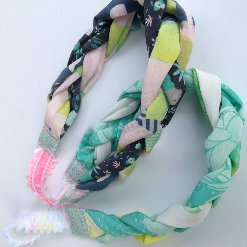 Handmade Silk Hairband