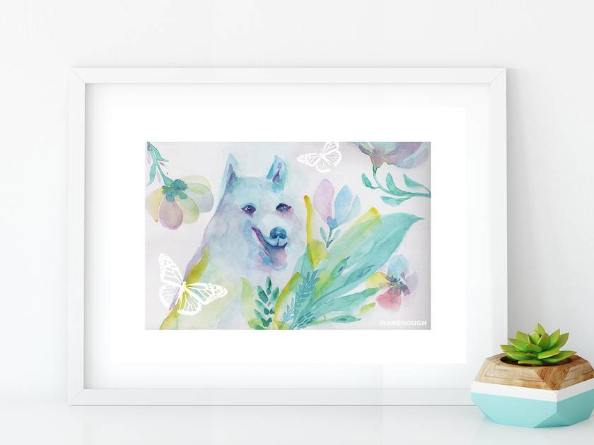 Fav Pet - Fine Art Giclee Print