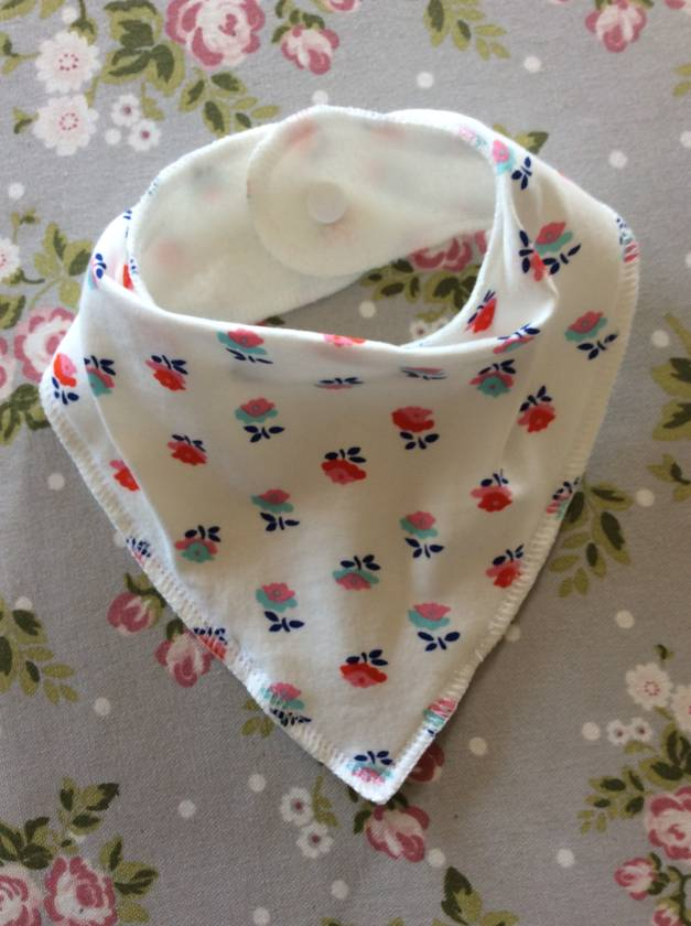 Bibs... Vintage inspired - Florals - Handmade by Melissa M - New Zealand