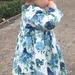 LittleMissFrock Liberty - floral needle cord cotton - Handmade - Melissa M - New Zealand