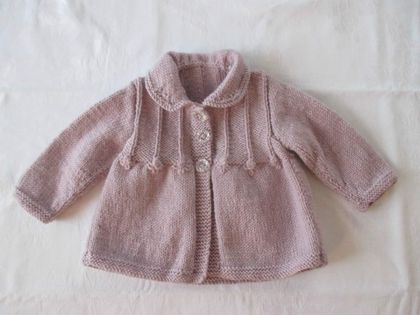Vintage Collared Cardigan - Knitted to Order