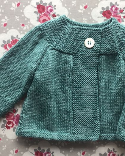 Daisy Swing Cardigan - hand knitted