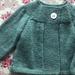 Daisy Swing Cardigan - hand knitted