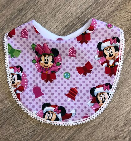 Christmas Bib - Handmade by Melissa M - New Zealand
