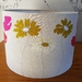 Cream flower lampshade