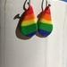 Rainbow stripe drops