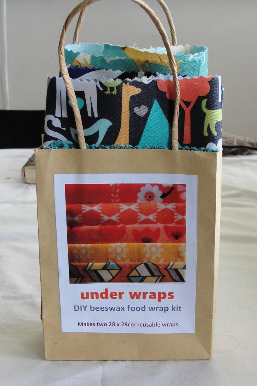 Do-it-yourself beeswax food wraps