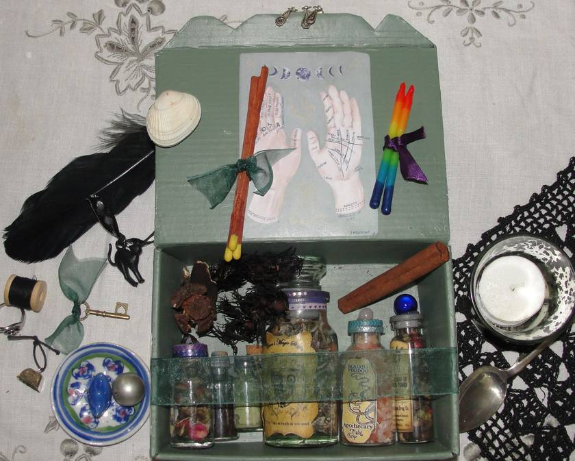 Alchemist apothecary box