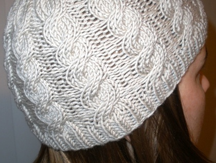Cable Hat Knitting Pattern Felt