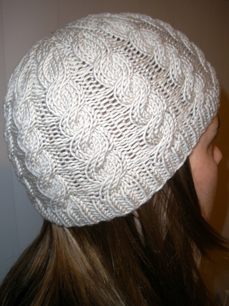 Knitting Pattern Aran Cable Hat : Cable Hat knitting pattern Felt