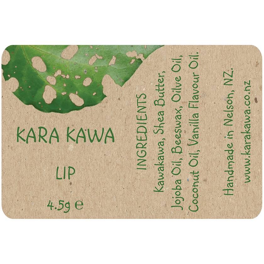 Kara Kawa Lip Balm Vanilla