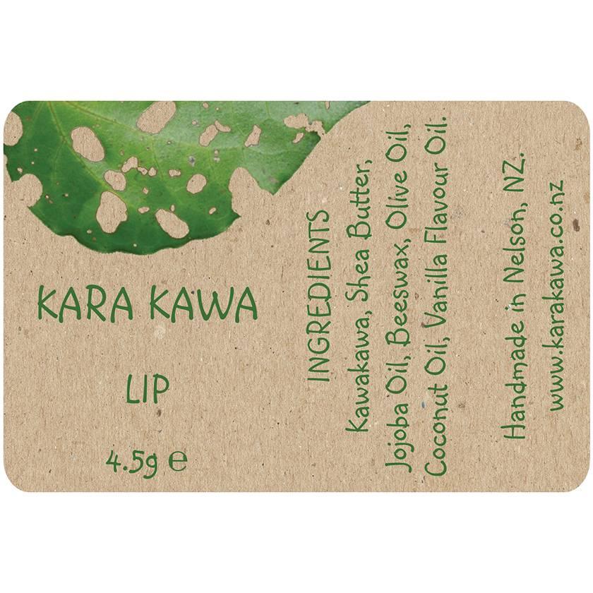 Kawakawa Lip Balm Vanilla