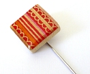 Bright Stripes Japanese Inspired Pin (C14)