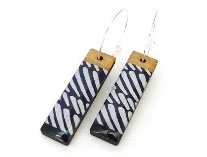 Geo-Washi Earrings