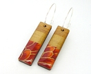 Geo-Washi Earrings