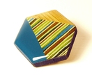 Geo-Washi Brooch - Large