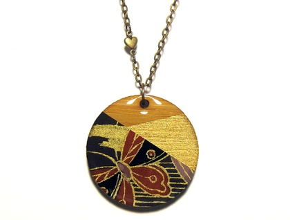 Geo-Washi Necklace