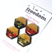 Geo-Washi Magnets - Set of four