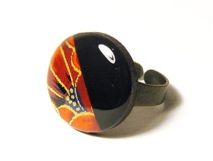 Geo-Washi Ring