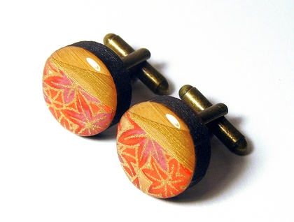 Geo-Washi Cuff Links