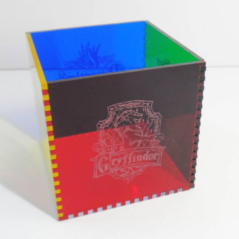 Harry Potter Acrylic Cube Pen Pot