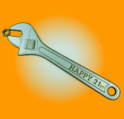 21st Key Wrench Silver Melteca